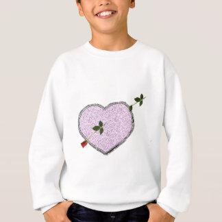 long stem rose arrow valentine's day gift idea sweatshirt