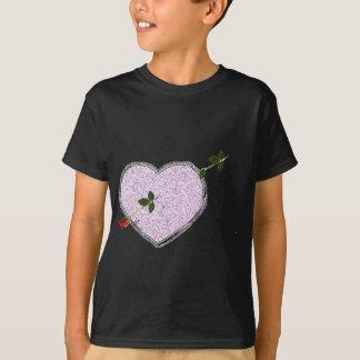 long stem rose arrow valentine's day gift idea T-Shirt