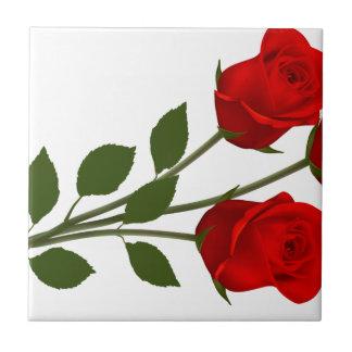 Long Stemmed Roses Tile