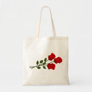 Long Stemmed Roses Tote Bag