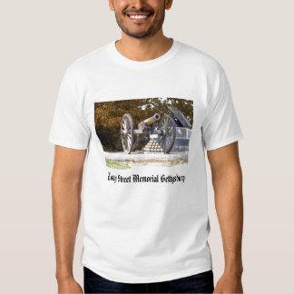 Long Street Memorial Gettysburg Tshirt