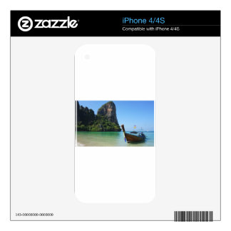long tail boat in thailand iPhone 4S skins
