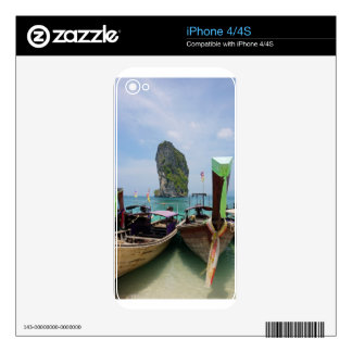 long tail boat in thailand skin for iPhone 4S