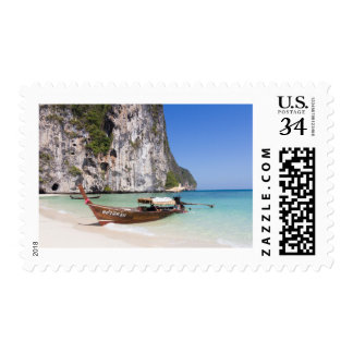 Long Tail Boat Stamp