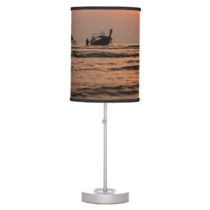 Long Tail Boats Table Lamp