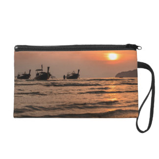 Long-tail boats wristlet purse