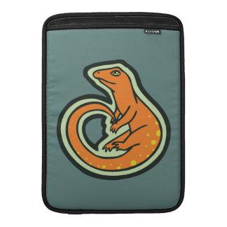 Long Tail Orange Lizard With Spots Drawing Design MacBook Air Sleeve