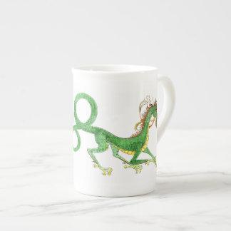 Long Tailed Dragon Bone China Mug Tea Cup