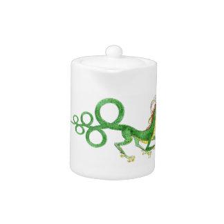Long Tailed Dragon Tea Pot