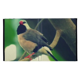 Long-tailed Finch iPad Folio Case