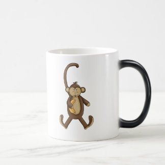 Long Tailed Monkey 11 Oz Magic Heat Color-Changing Coffee Mug