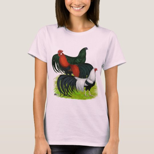 Long-tailed Rooster Trio T-Shirt