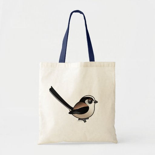 Long-tailed Tit Canvas Bag