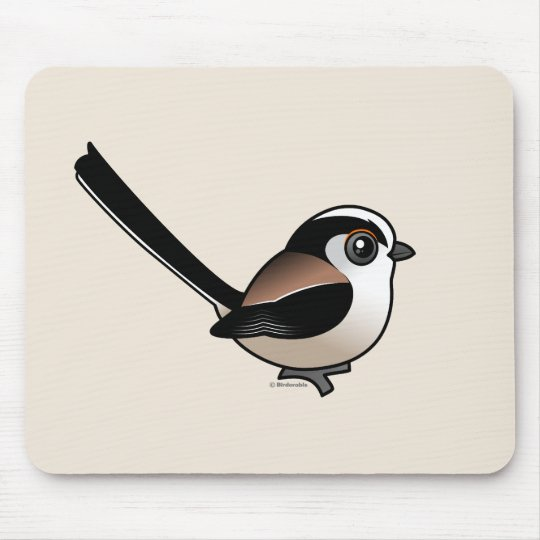 Long-tailed Tit Mouse Pad