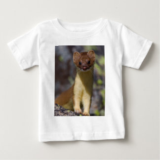 Long-tailed Weasel Baby T-Shirt