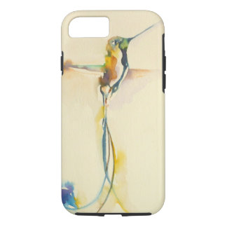 """Long Tails"" Hummingbird Print on iPhone 7 Case"