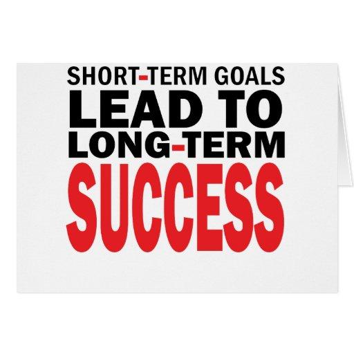LONG TERM SUCCESS CARDS