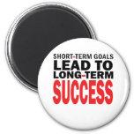 LONG TERM SUCCESS REFRIGERATOR MAGNET
