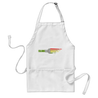 Long Time Diet Planner Fork Chart Funny Apron