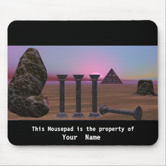 Long Time Surreal Mousepad Mouse Pads