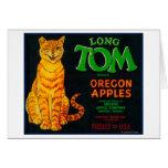 Long Tom Apple Crate LabelMonroe, OR