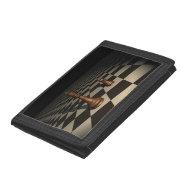 Long trip chess wallet