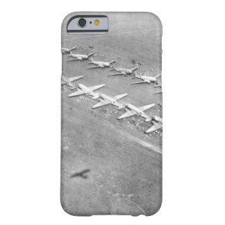 Long, twin lines of C-47 transport_War image Barely There iPhone 6 Case