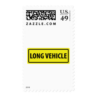 long vehicle postage stamps