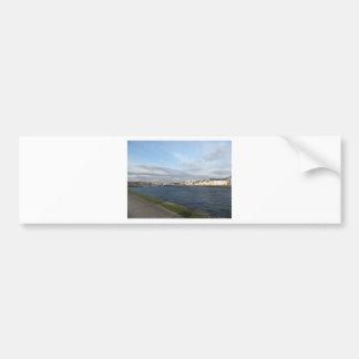 Long Walk and River Corrib Bumper Sticker