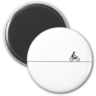 Long way home 2 inch round magnet