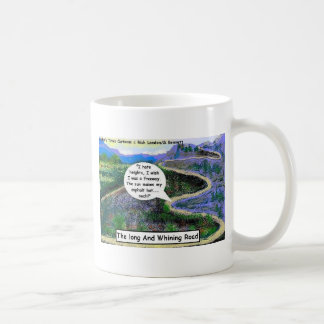 Long & Whining Road Funny Gifts & Collectibles Classic White Coffee Mug