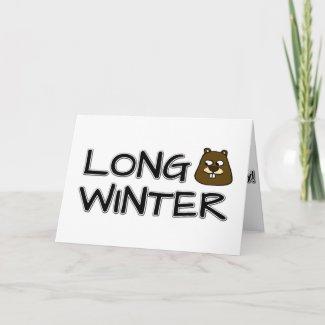 Long winter card