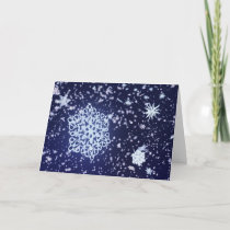 Long Winter's Night Christmas Card