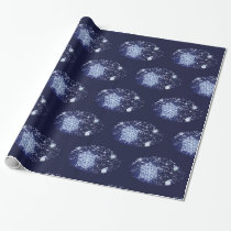 Long Winter's Night Christmas Wrapping Paper