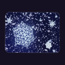 Long Winter's Night Flexible Magnet