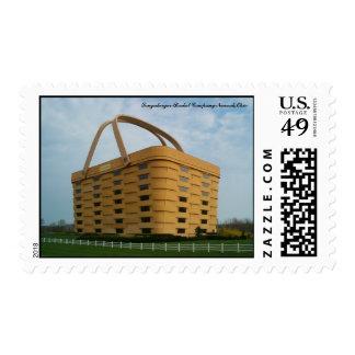 Longaberger Basket Company Postage Stamp