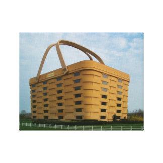 Longaberger Basket Company Wrapped Canvas
