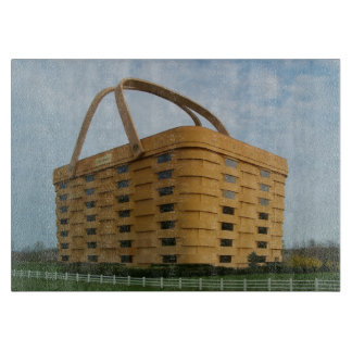 Longaberger Basket Glass Cutting Board