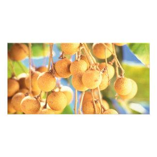 Longan fruits card