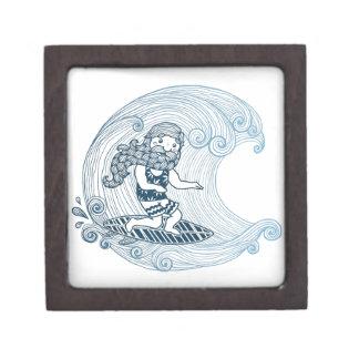 Longbeard surfing jewelry box