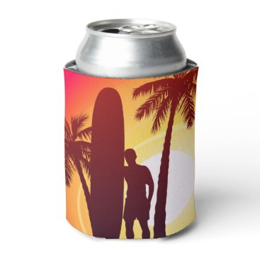 Longboard and palms can cooler