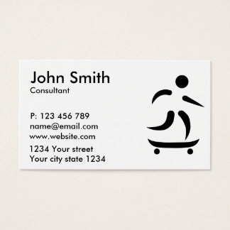 Longboard Business Card