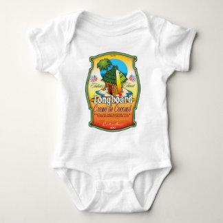 Longboard Creme de Coconut Baby Bodysuit