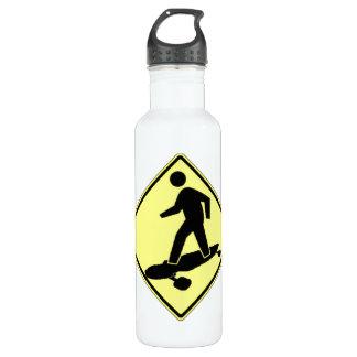 Longboard Crossing Stainless Steel Water Bottle