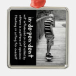 Longboard Independence Christmas Tree Ornament