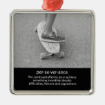 Longboard Motivational Quote Christmas Ornament
