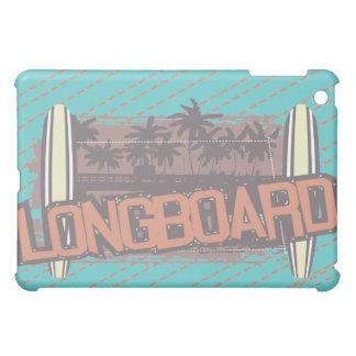 Longboard Surfboarding Teal  iPad Mini Case