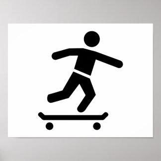 Longboarder Poster