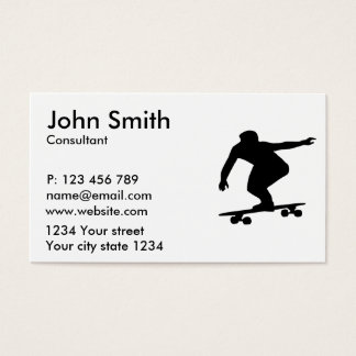 Longboarding Business Card