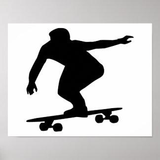Longboarding Poster